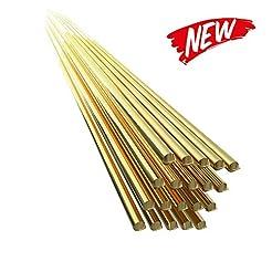 KKmoon 20PCS Brass Welding Brazing Rods ...