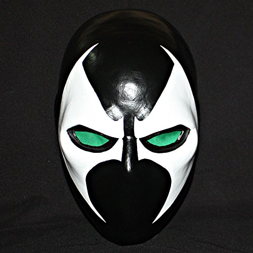[1:1 Custom Halloween Costume Cosplay Prop Latex Spawn Mask LA23] (Spawn Costume For Kids)