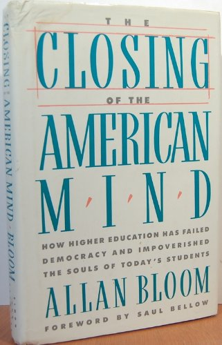 The Closing of the American Mind (10 30 Shopping-center)