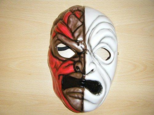 WRESTLING MASKS UK Men's Hollywood Undead Da Kurlz Mask One Size -