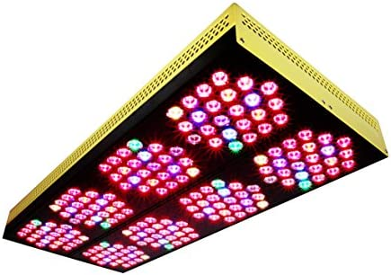 MicMol BloomBee 12-Band LED Grow Light 1440W Replace 2000W HPS and MH – Indoor Plants Dual Veg Bloom Full Spectrum