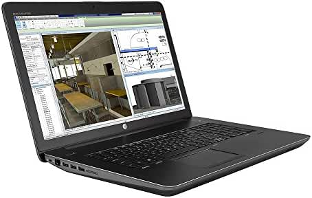 HP ZBook 17 G3 Mobile Workstation E3-1535M v5 2.9GHz 4 Core 64GB Quadro M5000M