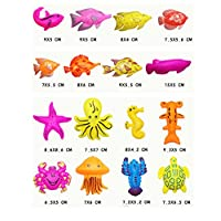NiGHT LiONS TECH 31 Different Shape Fishing Baby Kids Toddler Bath Toys ,8-Pa...