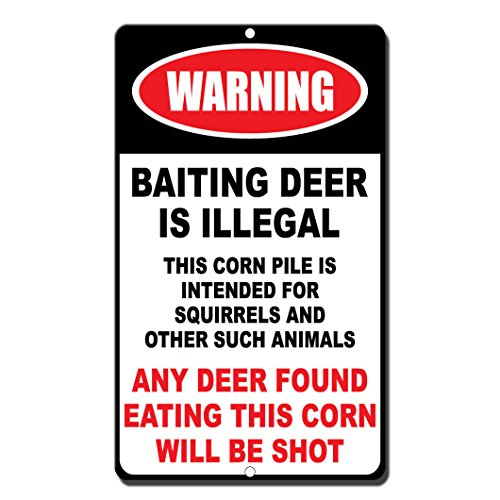 deer corn sign - 1