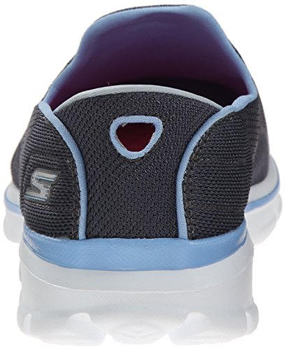 Charcoal Skechers Go 3 Slip Blue Walk Performance Shoe Walking On Strike Women's FFxfr
