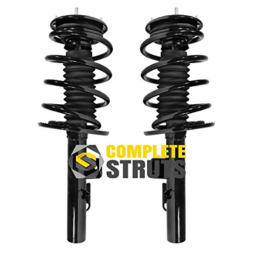 Front Quick Complete Struts & Coil Spring Assemblies Compatible with 2008-2009 Ford Taurus (Pair)