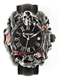 Montegrappa Chaos Silver and Enamel Automatic Watch