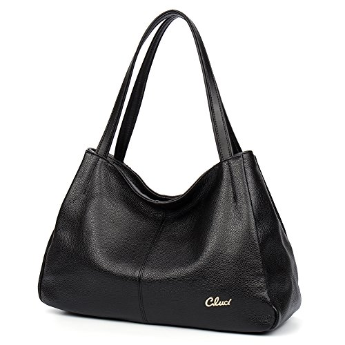 Leather Handbags For women Large Designer Ladies Shoulder Bags Hobo Totes (Happy Hobo)