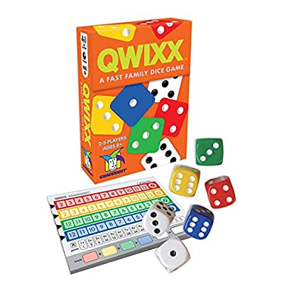 Qwixx - A Fast Family Dice Game: Toys & Games