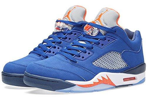 Jordan Uk atmc Puoliväliin 6 Naranja Nike Orng Retro Valkoinen Tm Nvy Blanco Miesten dp 5 Ryl Alhainen Bl Koripallo Air 5 Azul qq1E8vHg