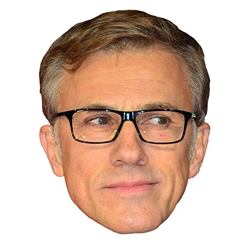 Christoph Waltz Celebrity Mask, Card Face and