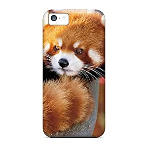 Slim Fit Protector Shock Absorbent Bumper Red Panda Cases For Iphone 5c