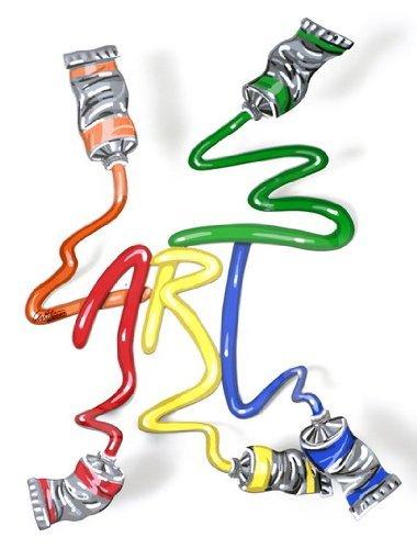 Amazon.com: Arte Serigraph en acero por David Gerstein Pop ...
