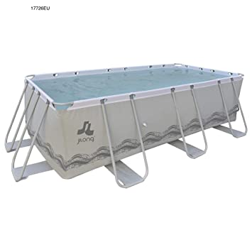 JILONG 17726EU - Piscina Exterior, Color Gris: Amazon.es: Juguetes y juegos
