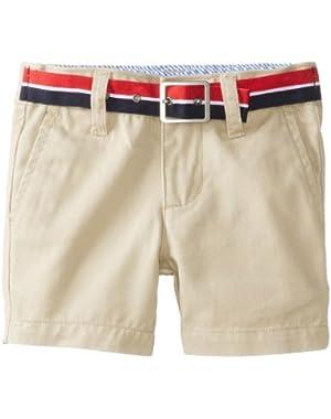 Tommy Hilfiger Baby Boys' Charlie Flat Front Short