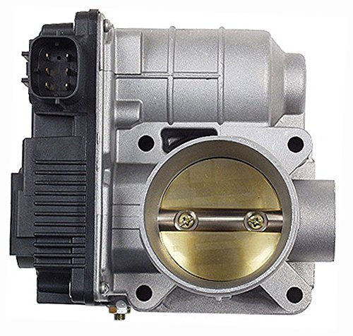 APDTY 16119AU003 Throttle Body Assembly With Throttle Actuator TPS Sensor & IAC Idle Air Control Valve Fits 2002-2006 Nissan Sentra w/ 1.8L Engine (Replaces 16119-AU00C 16119AU00C)