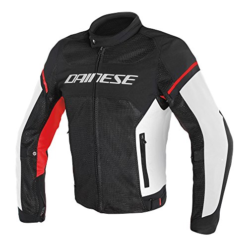 Dainese Air Frame D1 Textile Jacket (54) (Black/White/Red)