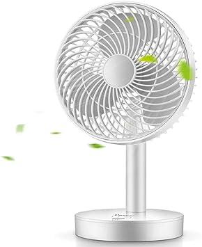 LY Ventilador personal, Portátil recargable ventilador de escritorio, de tres piezas del ventilador, de bajo ruido y ...