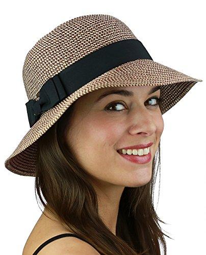 C.C W (Brown Cloche Hat)