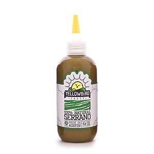 Yellowbird Serrano Hot Sauce (9.8 Oz, 3-Pack)