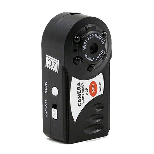 Mini spy Camera , PANNOVO wireless wifi IP P2P hidden Video Camera With Infrared Night Vision Wireless Video recorder