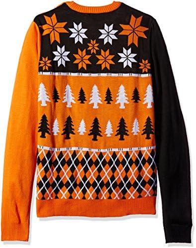 FOCO Klew NCAA Busy Block Sweater