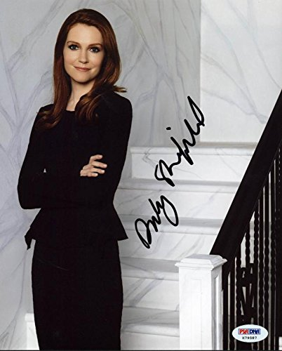 Darby Stanchfield Infamy Signed Authentic 8X10 Photograph PSA/DNA Authentication