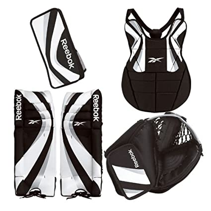 Amazon Com Reebok Le Street Hockey Goalie Set 2011 Hockey