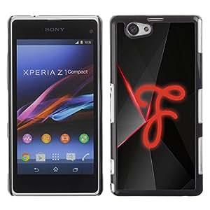 Be Good Phone Accessory // Dura Cáscara cubierta Protectora Caso Carcasa Funda de Protección para Sony Xperia Z1 Compact D5503 // F