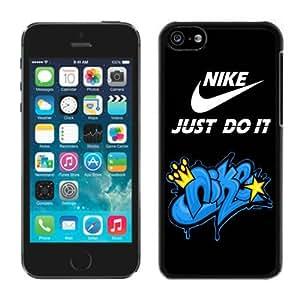Fashion Designed Cover Case For iPhone 5C With Nike 14 Black Phone Case Kimberly Kurzendoerfer
