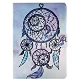 New iPad 2017 iPad 9.7 inch Case, Ultra Slim Lightweight Smart Case Stand with Auto Sleep/Wake Function, Microfiber Lining, Soft Back Cover for Apple New iPad 9.7-inch (dream catcher)