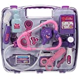 Pretended Doctor's Medical Play Set Carry Case Medical Kit for Kids Toy