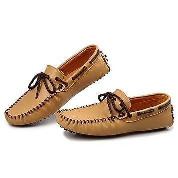 YaXuan Zapatos de Barco nuevos para Hombres, Mocasines y Slip-on Comfort de Verano/otoño, Zapatos de conducción clásicos, Zapatos Perezosos, Fiesta y Noche: ...