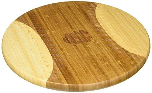 NCAA North Carolina State Wolfpack Homerun! Bamboo Cutting Board with Team Logo, 12-Inch