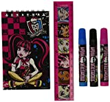"Monster High Artistic Stationery Set for Creative Activities - 11"" x 7"" x 0.5"" - 12 per pack"