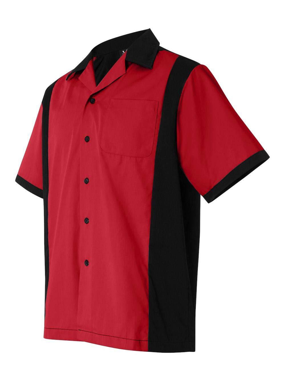 Hilton HP2243 - Cruiser Bowling Shirt Red by Hilton
