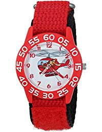 Boy's 'Launchpad' Quartz Plastic and Nylon Casual Watch, Color:Red (Model: WDS000273)
