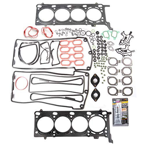 SCITOO Compatible fit for Cylinder Head Gasket Kits BMW 540i 740iL 840Ci X5 Range Rover 1996-2005 Engine Automotive Replacement Gaskets Set