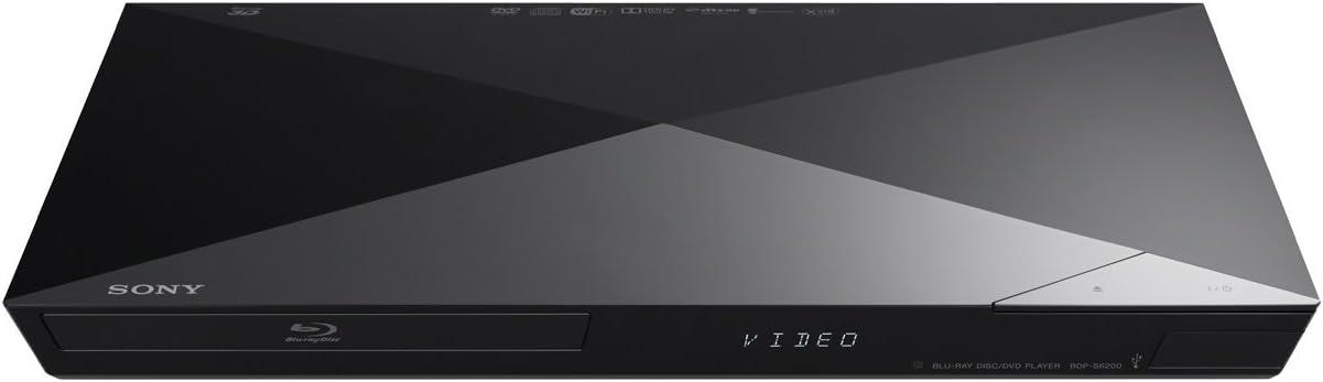 Sony BDP-S6200B - Reproductor de Blu-ray (Smart 3D, 4K, conexión HDMI), negro: Amazon.es: Electrónica