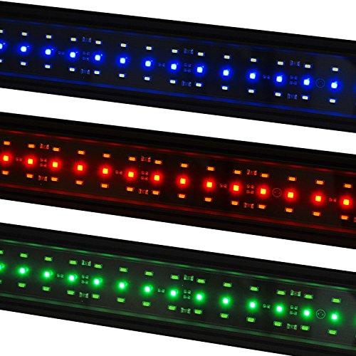 VivaGrow DN RGB LED Aquarium Light Freshwater Plant 24/7 Remote Automation (80cm - 30
