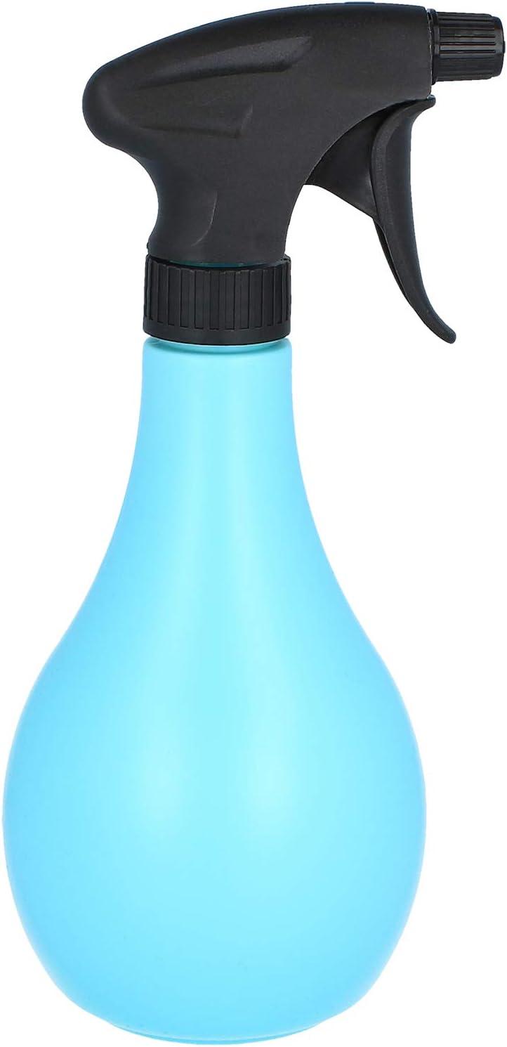 5-teilig - blau com-four/® 5-teiliges Gartenwerkzeug-Set Blumenschaufel Pflanzenkelle Blumengabel Spr/ühflasche und Tragetasche