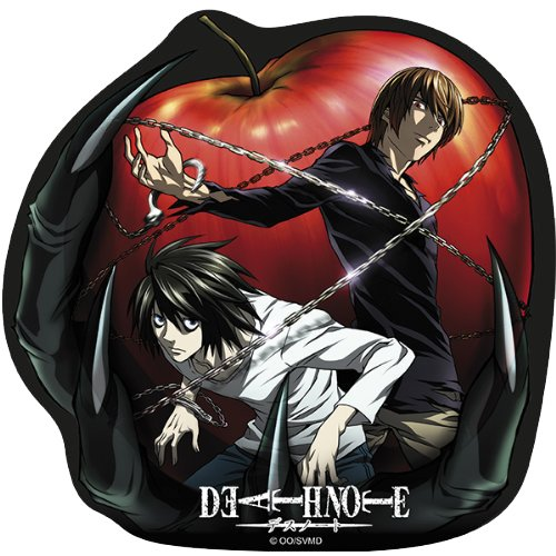 DEATH NOTE mousepad L and Light in shape [Importación Inglesa] Abystyle ABYACC148