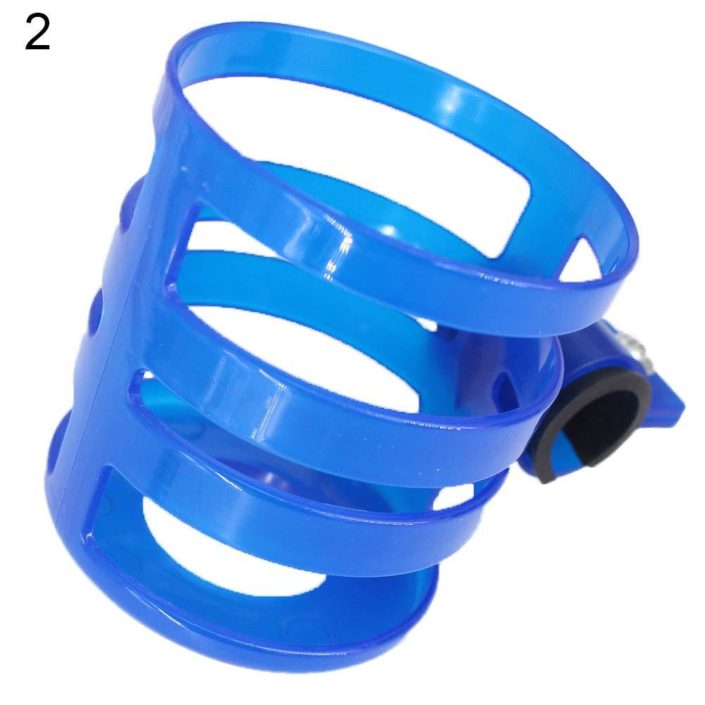 LAPUTA Bike Motorcycle Baby Pram Stroller Milk Bottle Drink Water Cup Holder Mount Cage - Blue