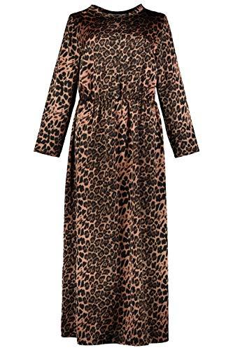 Studio-Untold-Femme-Grandes-Tailles-Robe-Maxi-lopard-725252