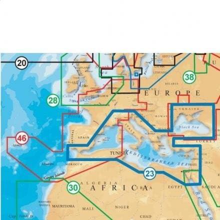 CARTUCHO NAVIONIC GOLD XL9SD 23XG MEDITERRANEOBLACK SEA NAVIONICS: Amazon.es: Deportes y aire libre