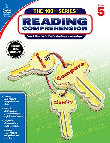 Reading Comprehension, Grade 5 (The 100+ SeriesTM) from Carson Dellosa Education