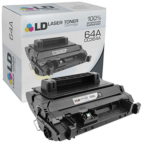 LD © Compatible Replacement Laser Toner Cartridge for Hewlett Packard CC364A (HP 64A) Black for use in the LaserJet P4014dn, P4014n, P4015dn, P4015n, P4015tn, P4015x, P4515n, P4515tn & P4515x Printers