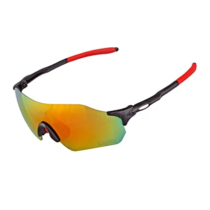 b421323dfe Amazon.com   Yomeni Polarized Sports Sunglasses Tr90 Unbreakable ...