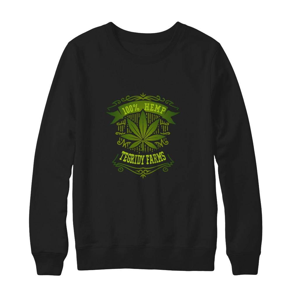 Ultimate Heavyweight Crewneck Sweatshirt Teely Shop Men /& Women 100/% Hemp Tegridy Farms Funny Cute Hanes
