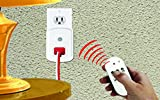 HousePlus Wireless Remote Control Outlet, Light